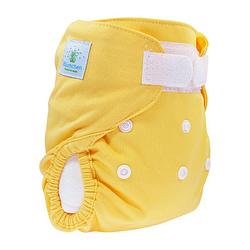 Pannolino lavabile cover newborn blumchen mandarin velcro
