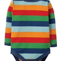Body Frugi Multi Rainbow Stripes
