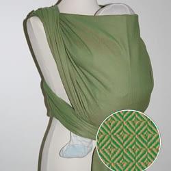fascia rigida portabebè storchenwiege leo green