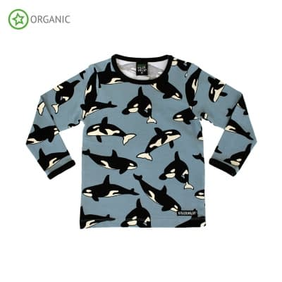 maglietta maniche lunghe villervalla whale