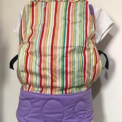Marsupio ergonomico niku niku toddler gorgeous stripes