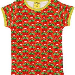 T-shirt duns radish coral
