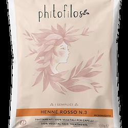Hennè rosso n 3 lawsonia phitofilos