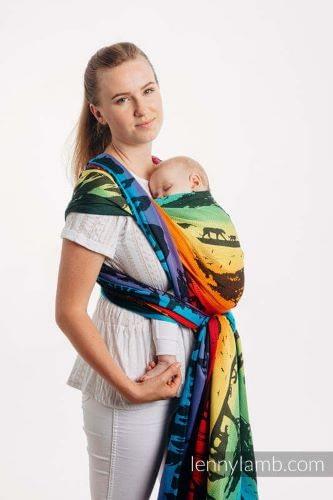 fascia portabebè lennylamb rainbow safari