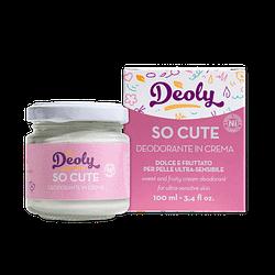 Deodorante solido deoly so cute plastic free