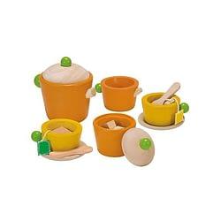 Tea set plan toys legno