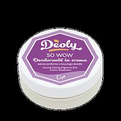 Deodorante solido Deoly so wow