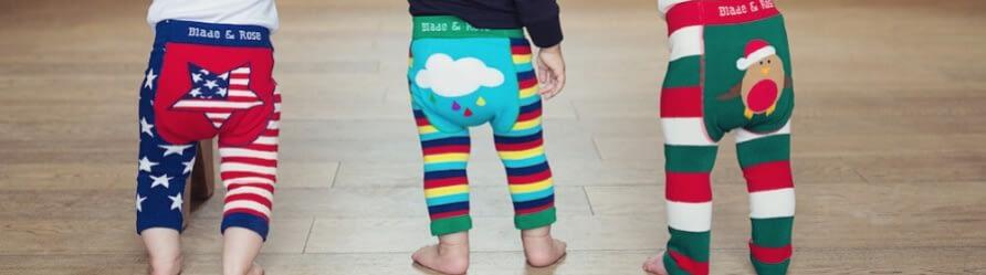 banner leggings bambini abbigliamento