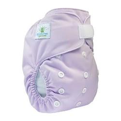 pannolino lavabile pocket blumchen lilac velcro