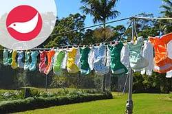 Lavaggio e manutenzione dei pannolini lavabili