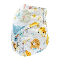 Pannolino lavabile cover blumchen lovely animals