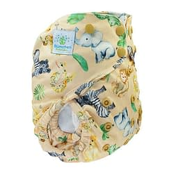 Pannolino lavabile eco cover 2in1 blumchen africa snaps