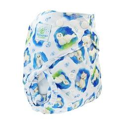 Pannolino lavabile eco cover blumchen 2in1 arctic snaps