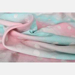 fascia portabebè yaro dots pastel rainbow particolare