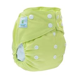 pannolino lavabile aio blumchen light green snaps