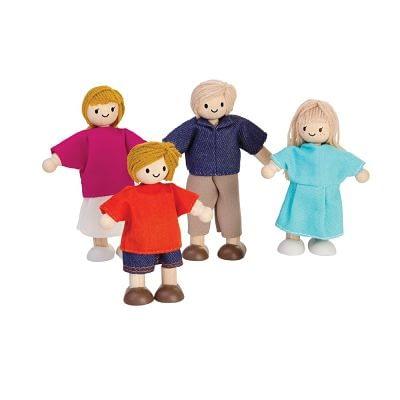 Doll family european plan toys