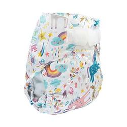 pannolino lavabile cover newborn blumchen unicorn