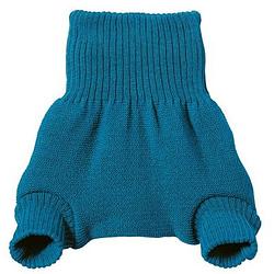cover pantaloncino lana disana blu