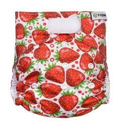 pannolino lavabile pocket t-tomi strawberries velcro