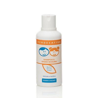 Baby shampoo e bagno schiuma verdesativa 500ml