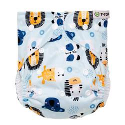 pannolino lavabile pocket t-tomi animals snaps
