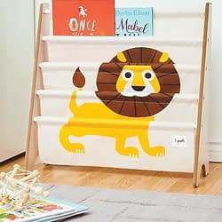 libreria montessoriana frontale 3sprouts leone giallo2