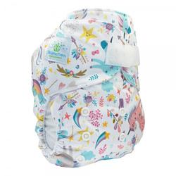 Pannolino lavabile pocket blumchen unicorn velcro