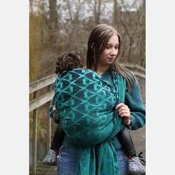 fascia rigida Yaro La Fleur Duo Black Green Blue Meta