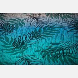 Yaro Oasis Duo Aqua Grad Emerald Navy Wool particolare
