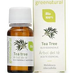 Olio essenziale biologico di tea tree greenatural