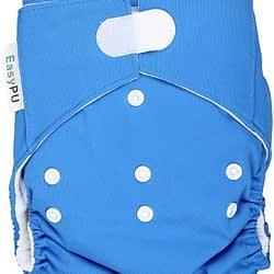 Pannolino lavabile pocket easypu Blu