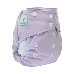 Pannolino lavabile AIO blumchen lilac snaps