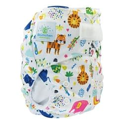 Pannolino lavabile pocket blumchen zoo velcro