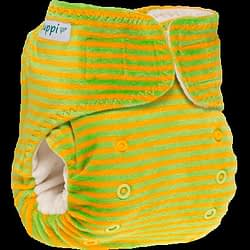 Pannolino lavabile fitted pocket newborn Puppi Playground