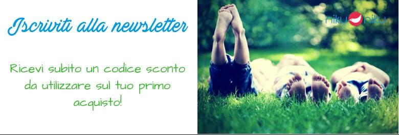 iscriviti alla newsletter di Niku Niku